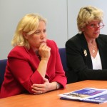 Senator Mary Landrieu and Chief of Staff Mary Campbell in Holland May 27, 2009.  Photo by mil escort Shawn Baldy