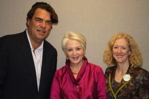 Gladstone Jones, Angela Hill and Sandy Rosenthal. Photo/Ian Hoch